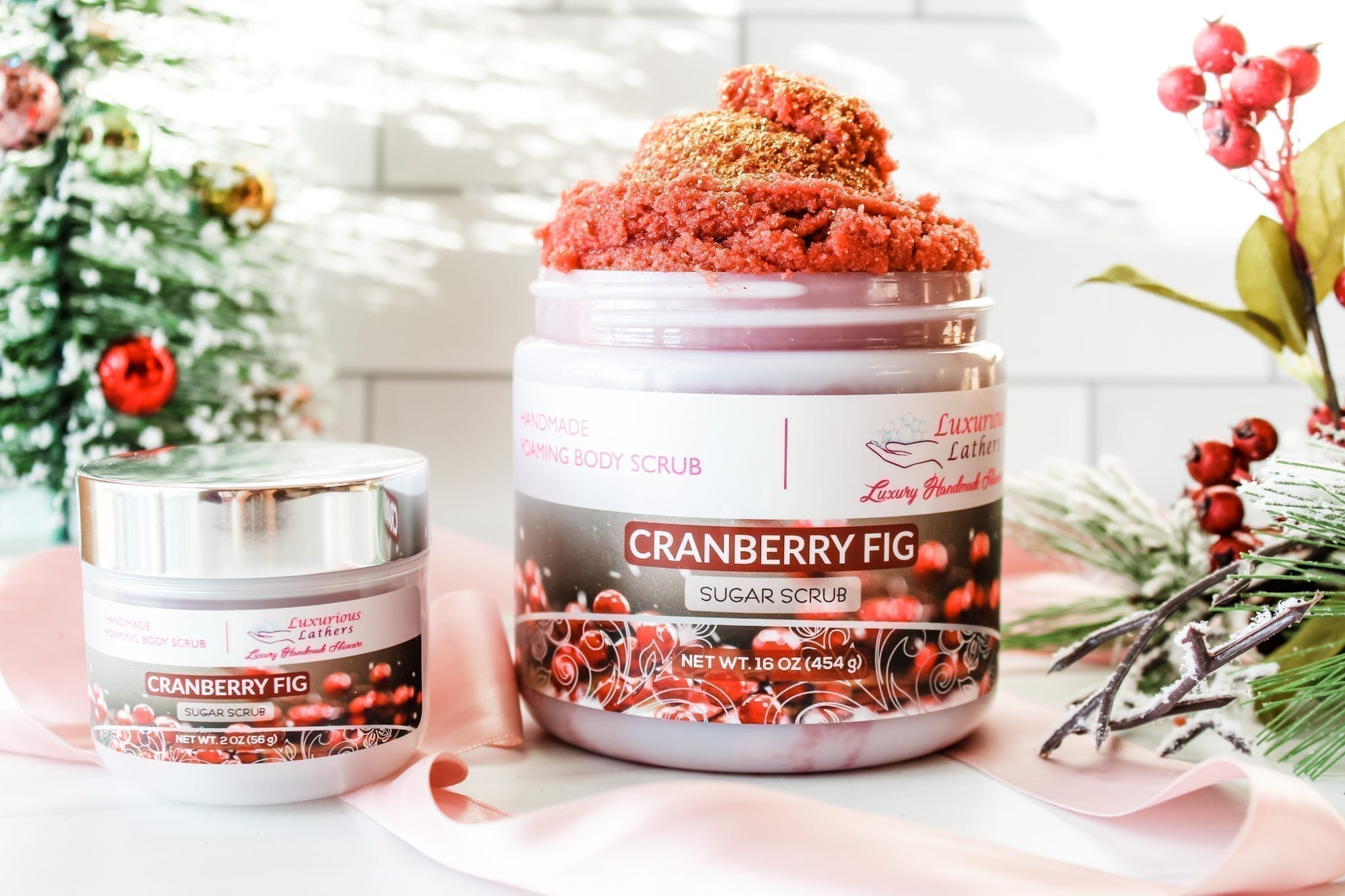 Cranberry Fig Foaming Body Scrub