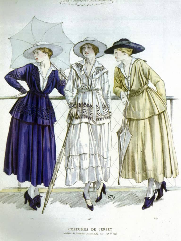 Chanel-1917-dresses