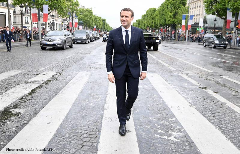Emmanuel Macron En Marche But With The Right Shoes Luxury Activist