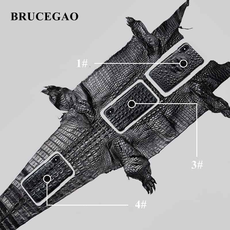 Genuine-Crocodile-Skin-iPhone-X-Cases