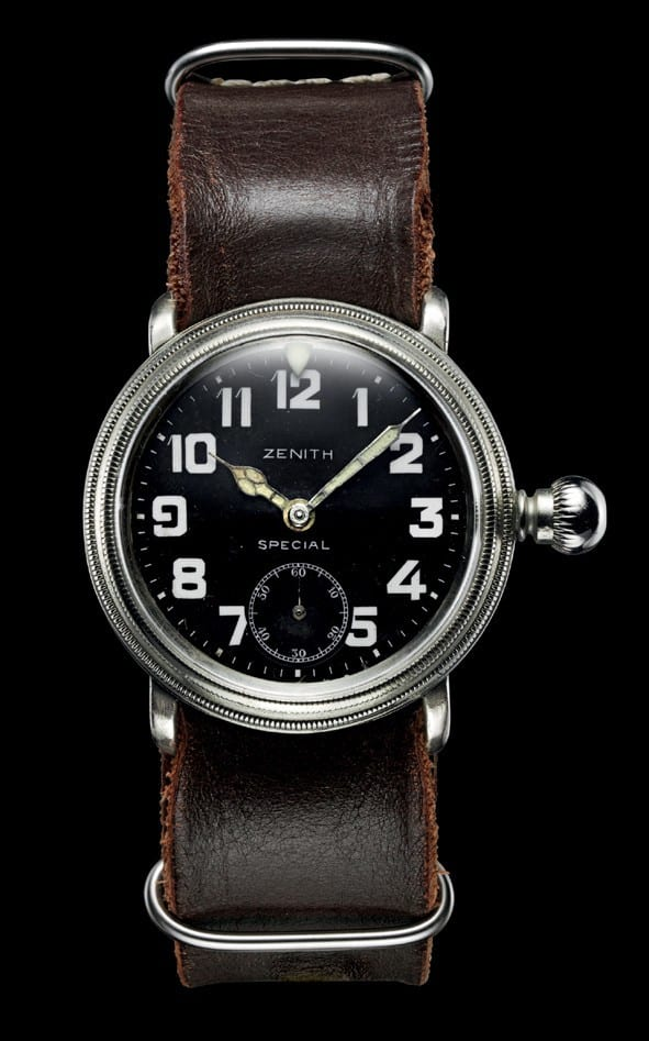 Historical Louis Bleriot watch