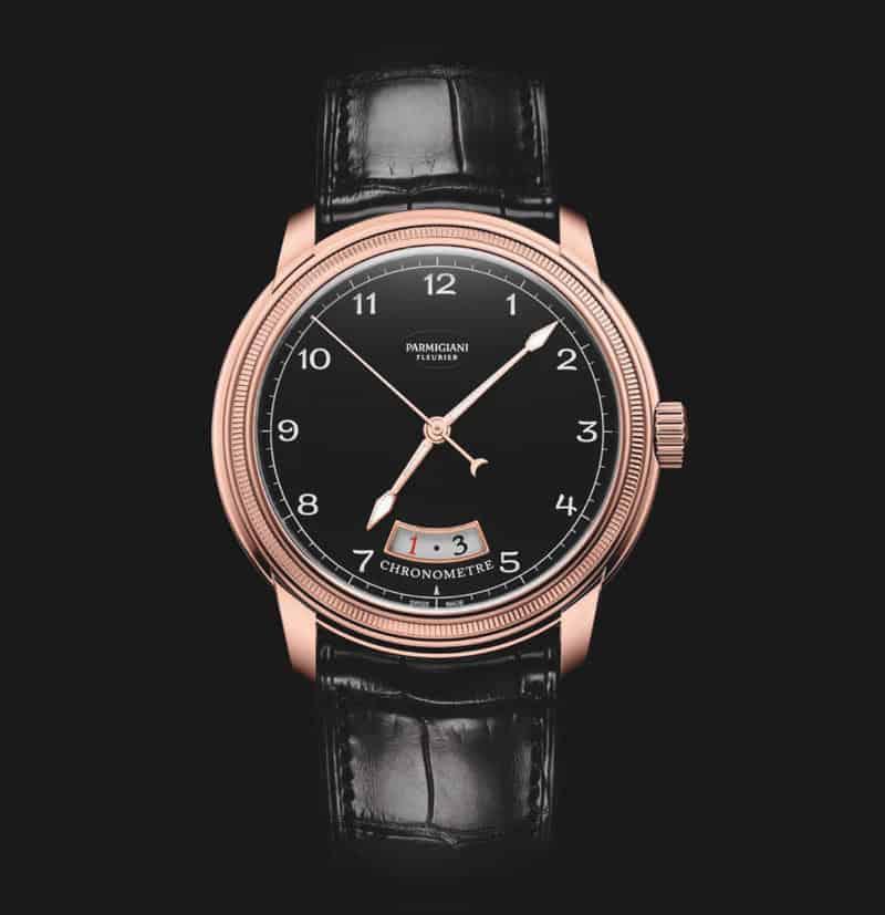 Parmigiani-Fleurier-Toric-Chronometre-black-dial-pink-gold