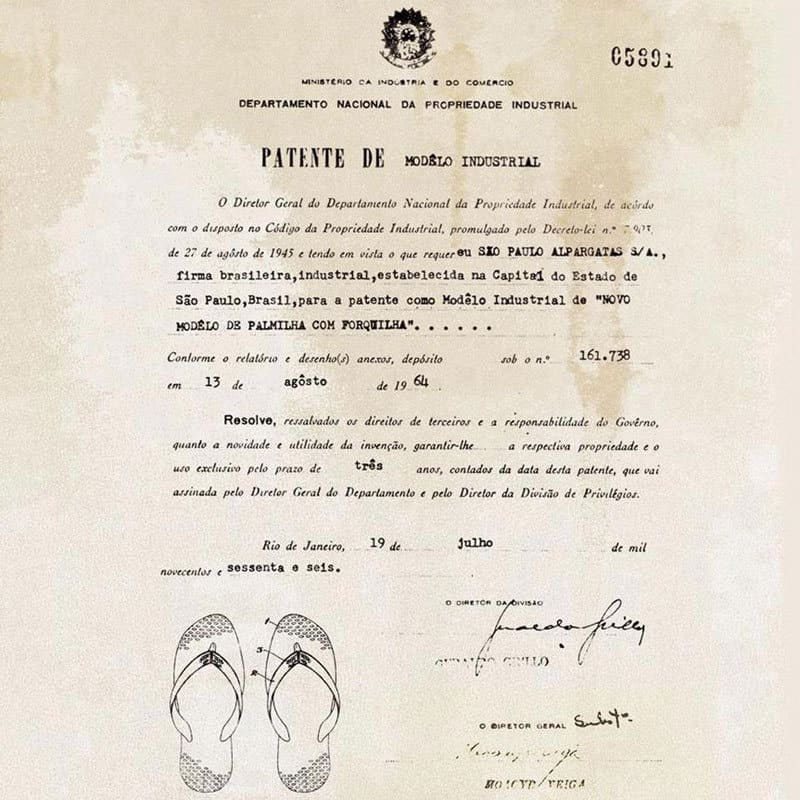 Patente-Havaianas