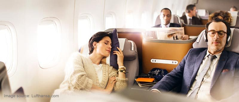 Relaxed-business-class-traveling