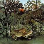 Rousseau, The Lion and the Antelope