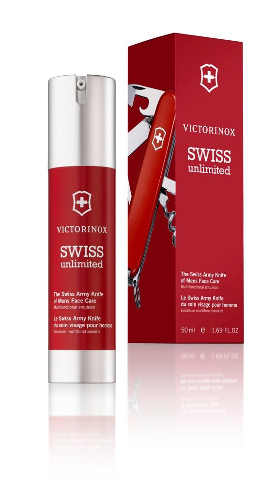 Swiss Unlimited Men's Face-Care Emulsion-Serum
