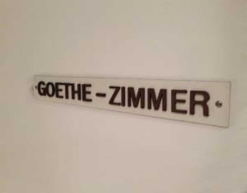 Wysses Rossli Goethe Zimmer
