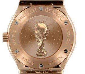 hublot gold cup watch