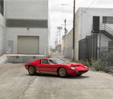Lamborghini Miura P400 SV – 1971 – 2.475.000 dollars (16,8 mio. kr.)