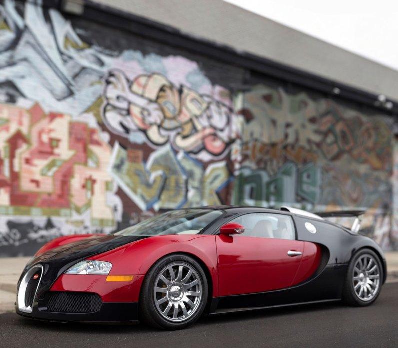 Bugatti Veyron 16.4 – 2006 – 1.815.000 dollars (12,3 mio. kr.)