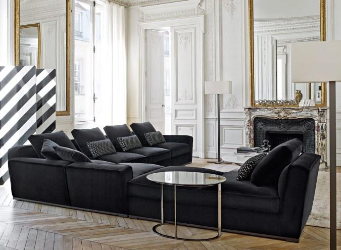 Den elegante sofa Solatium fra Maxalto er en nyhed i sortimentet hos House Copenhagen.