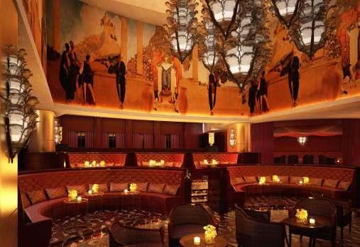 Den prisbelønnede Spice Market restaurant på luksushotellet W Doha.