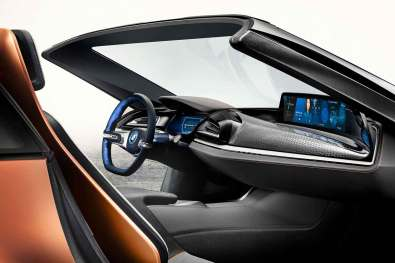 BMW iVision Future Interaction Concept
