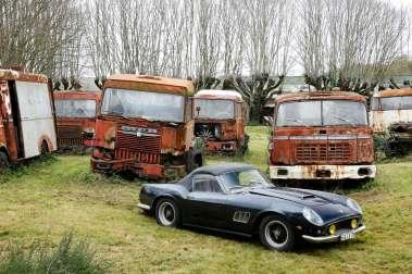 De mange år i garagen har været gode ved den kostbare italienske sportsvogn, som er lige så original, som da den blev købt af en fransk skuespiller i 1962.