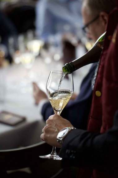 Vores workshop bød også på smagning af Krug 2000 og Krug 2003. Begge var svære år i champagne med varme somre, og begge champagner er gode repræsentanter for hvad Krug kan præstere selv når vejrliget spiller et puds. 2003 var den tidligste høst nogensinde p.g.a. varmen, og alligevel er champagnen efter 12 års lagring stadig frisk og skarp i smagen som en Krug bør være.
