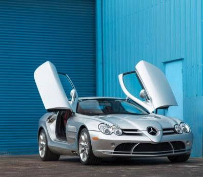 Mercedes-Benz SLR McLaren – 2005 – 495.000 dollars (3,6 mio. kr.)