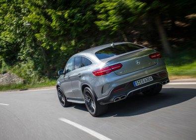 Mercedes GLE Coupé fås som basis med en V6-dieselmotor med 258 hestekræfter, mens topmodellen AMG GLE 63 S Coupé yder 585 hestekræfter.