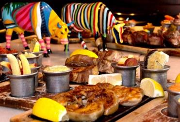 Masser af kød på La Cabrera.