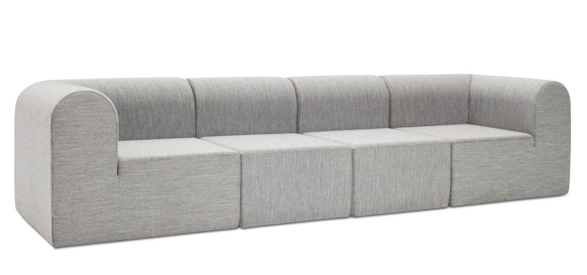 Erik Rasmussen designede i 1969 den populære Modulsofa, som i dag er en ægte klassiker. Det karakteristiske møbel er med sin stramme, modulære form stadig aktuel og skaber vidt forskellige udtryk, alt efter sammensætning, farve og polstring. Paustian-modulsofa, fra 8.981 kr. pr. del.