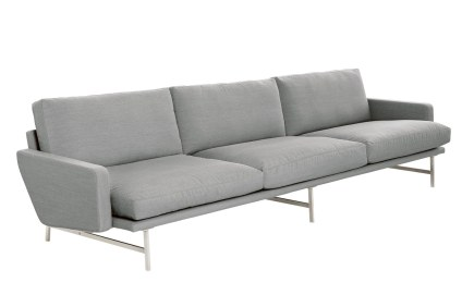 Lissoni Sofa, som Piero Lissoni designede for Fritz Hansen i 2006, er et sofistikeret og moderne møbel, som kombinerer komfort og tidløst design.