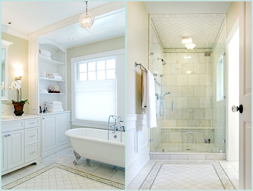 Top 13 Outstanding White Bathrooms To Make You Instantly ... on White Bathroom Design Ideas  id=97718