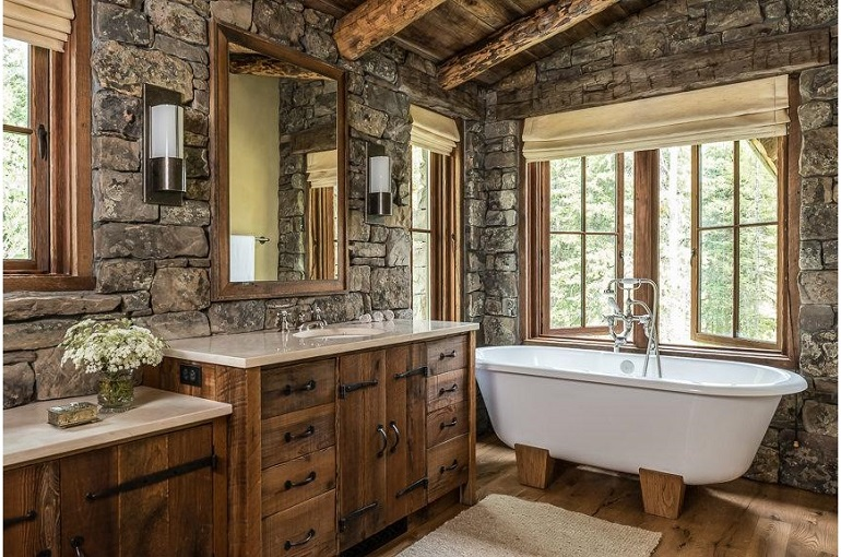 10 beautiful rustic bathrooms to inspire you today on rustic bathroom designs photos id=99734