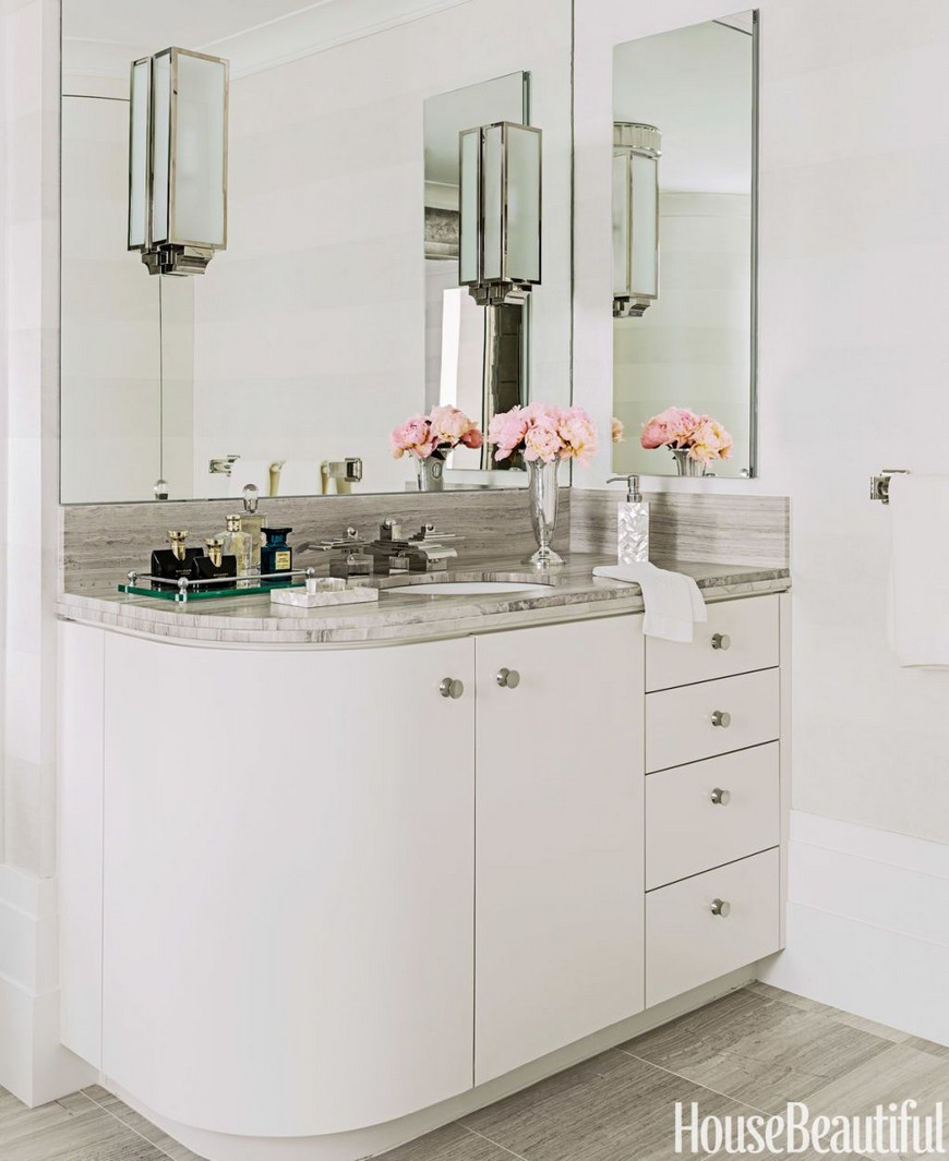 6 Small Bathroom Ideas to Achieve a Simple Yet Elegant ... on Simple Small Bathroom Ideas  id=30955