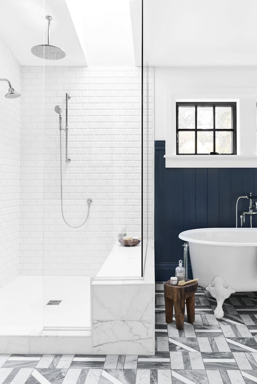 Bathroom Tile Ideas that Will Motivate You to Remodel Your ... on Bathroom Tile Designs  id=87036