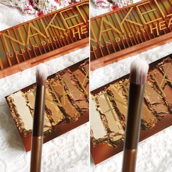 Urban Decay Naked Heat Review! | Double Ended Brush