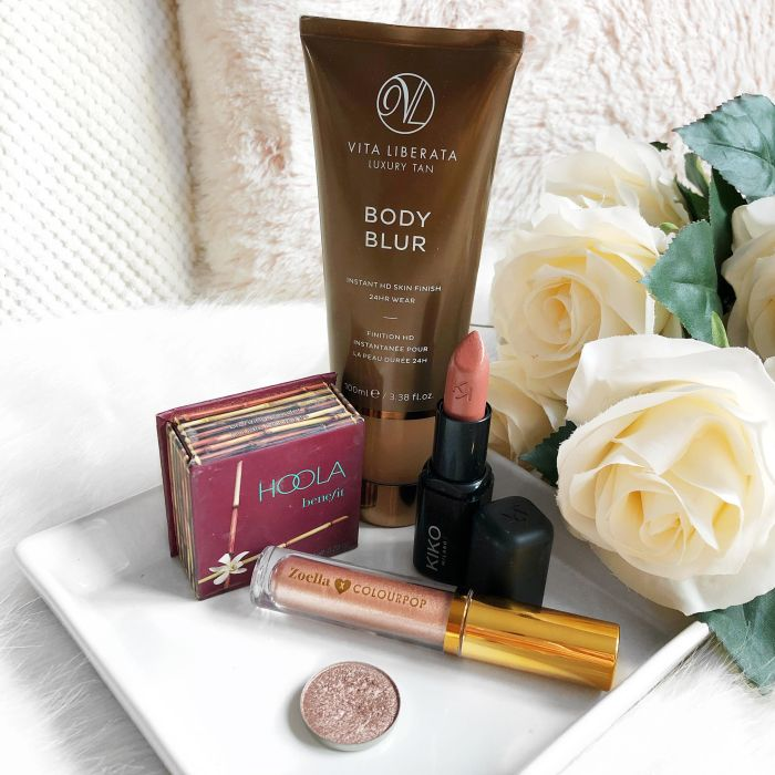 April Favourites (Hoola bronzer, Body blur, eyeshadow, liquid shadow, lipstick)