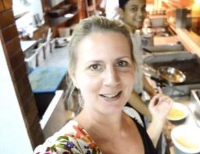 Sheraton Bali Kuta bene kitchen tour video Angela Carson