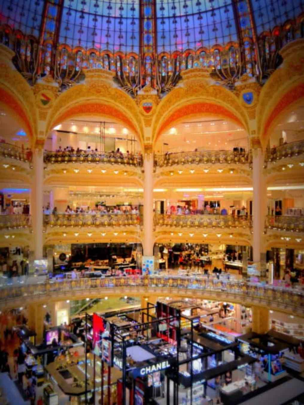 Galeries Lafayette dome - Luxury Columnist