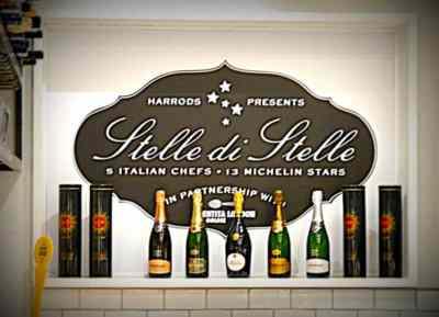 Stelle di Stelle – 3 Michelin Star Cuisine at Harrods