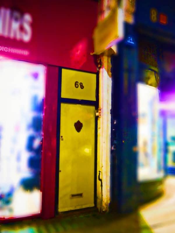 Peek behind the Little Yellow Door – pop up restaurant