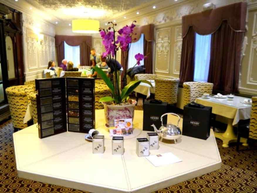 St Ermins Hotel tea
