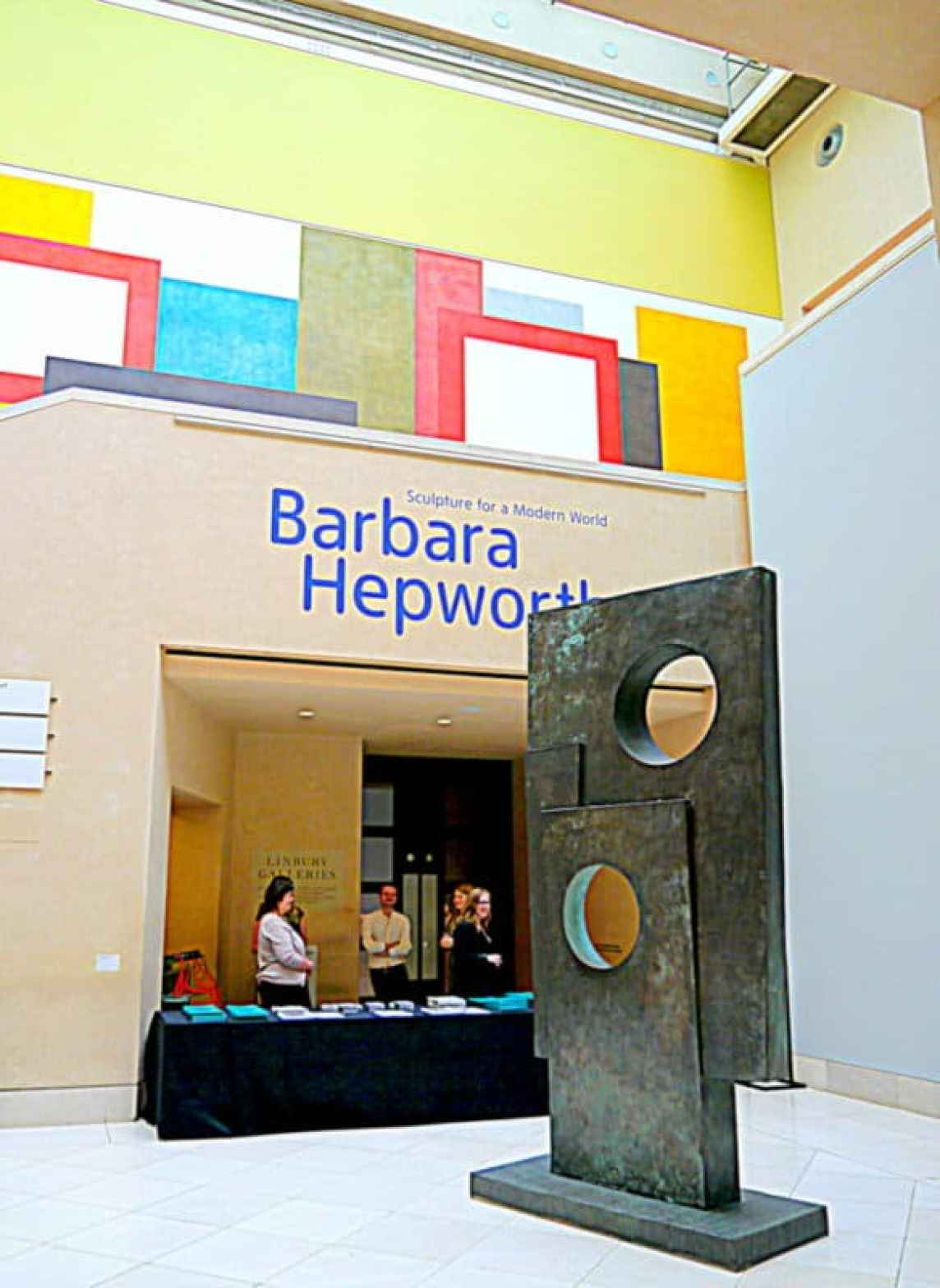 Barbara Hepworth Linbury Galleries Tate Britai