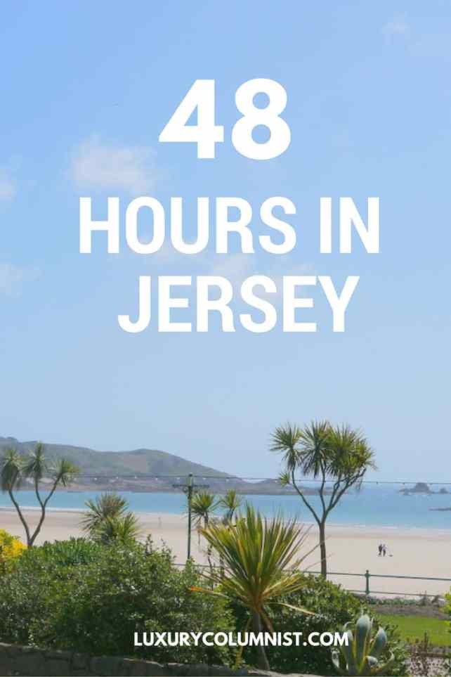 48 hours in Jersey