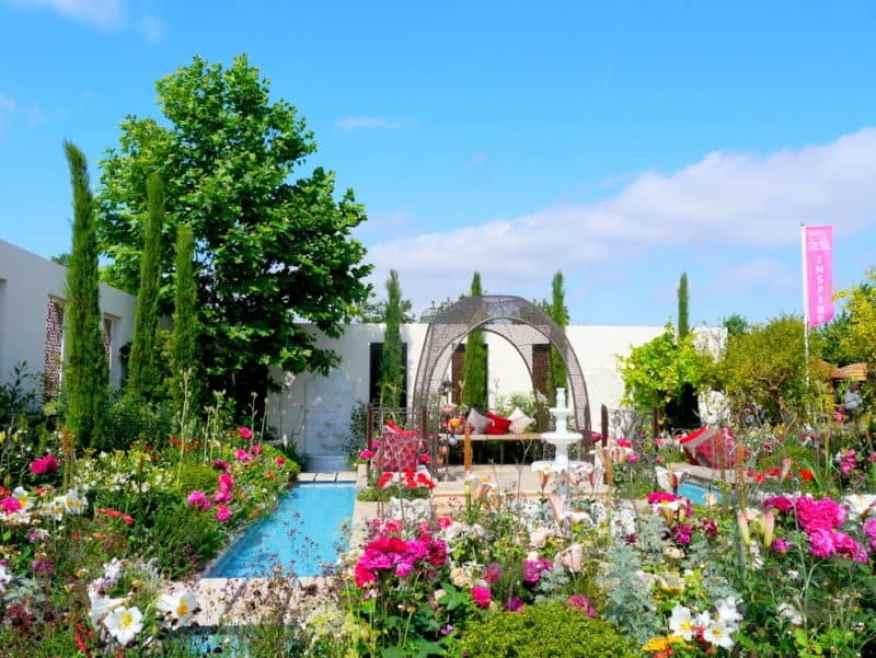 Turkish Garden of Paradise Hampton Court