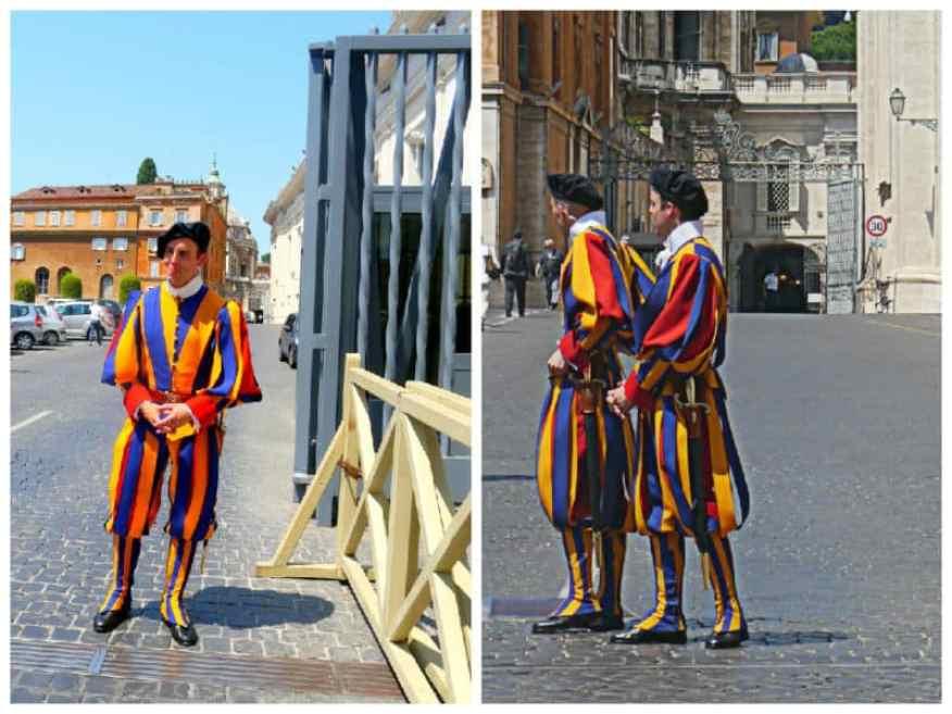 Swiss guards Vatican