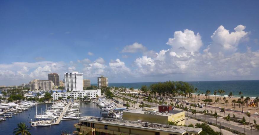 Fort Lauderdale marina view