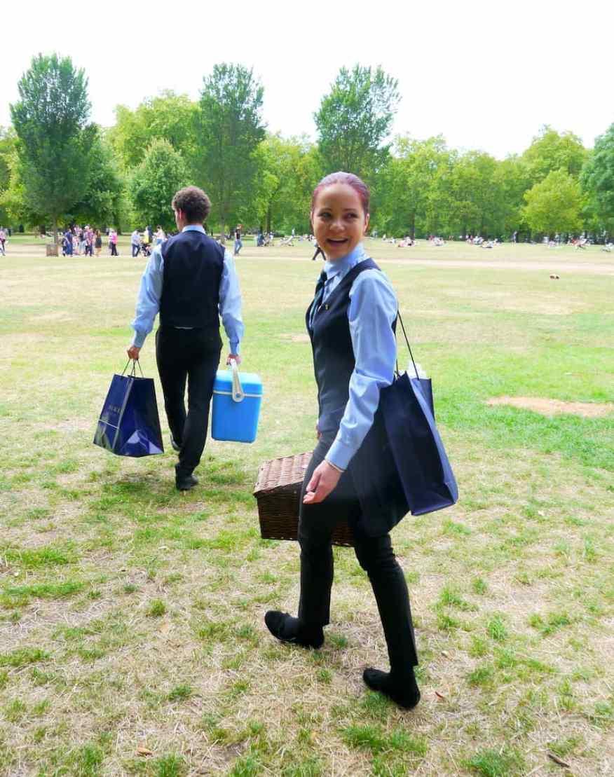 Dukes London butler picnic