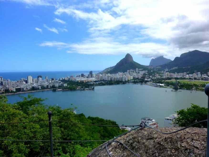 Lagoa Rio de Janeiro view