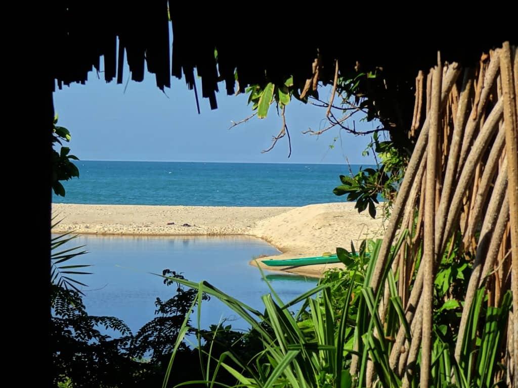 Ras Kutani lagoon