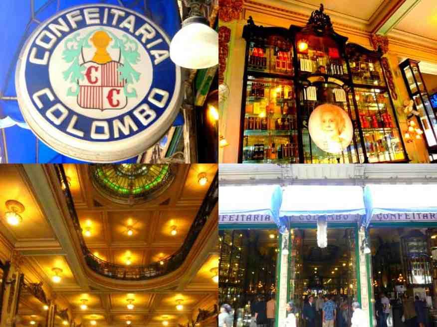 Confeitaria Colombo Rio de Janeiro