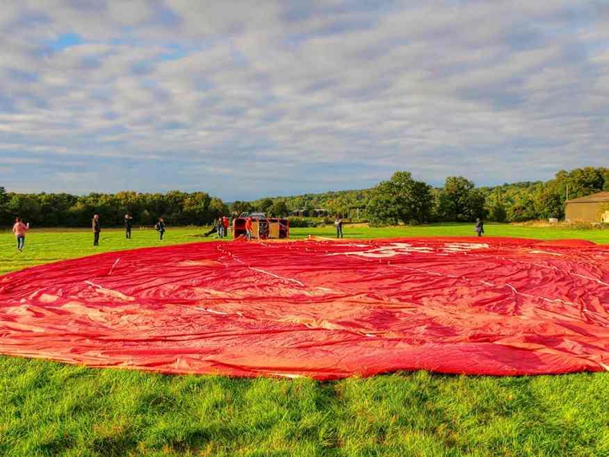 Virgin Balloon ride
