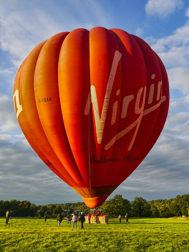 First Time – Champagne Hot Air Balloon Ride