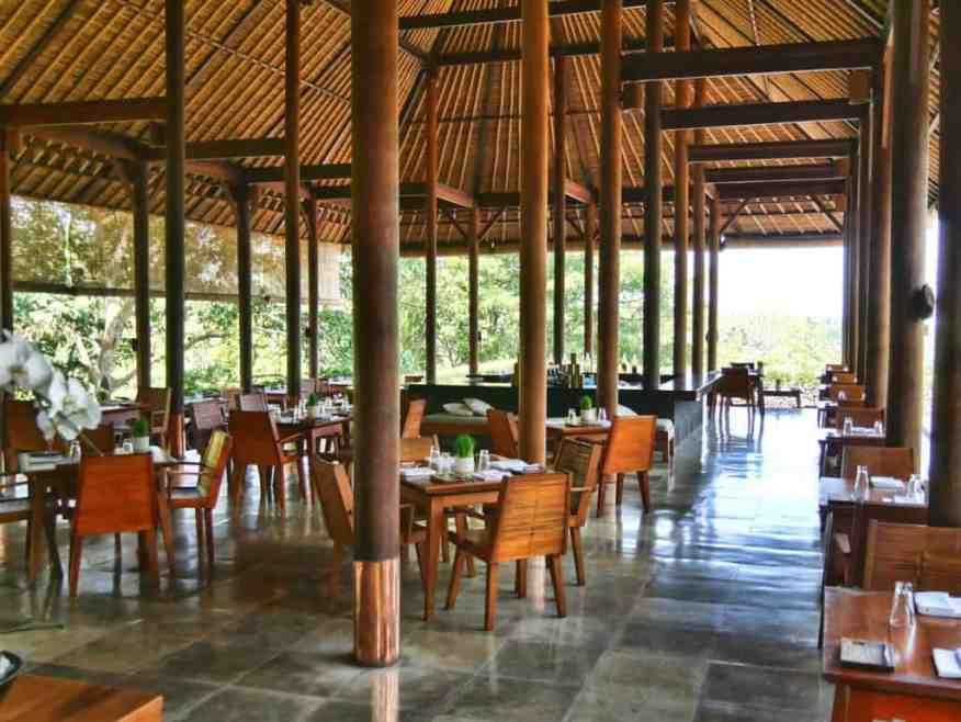 Alila Ubud Plantation restaurant review