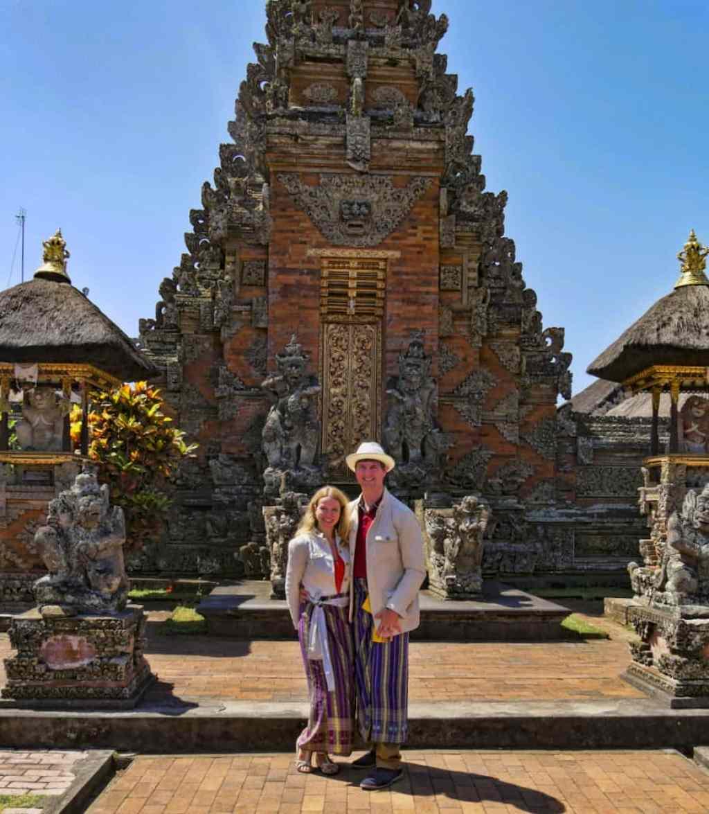 Balinese temple sarong