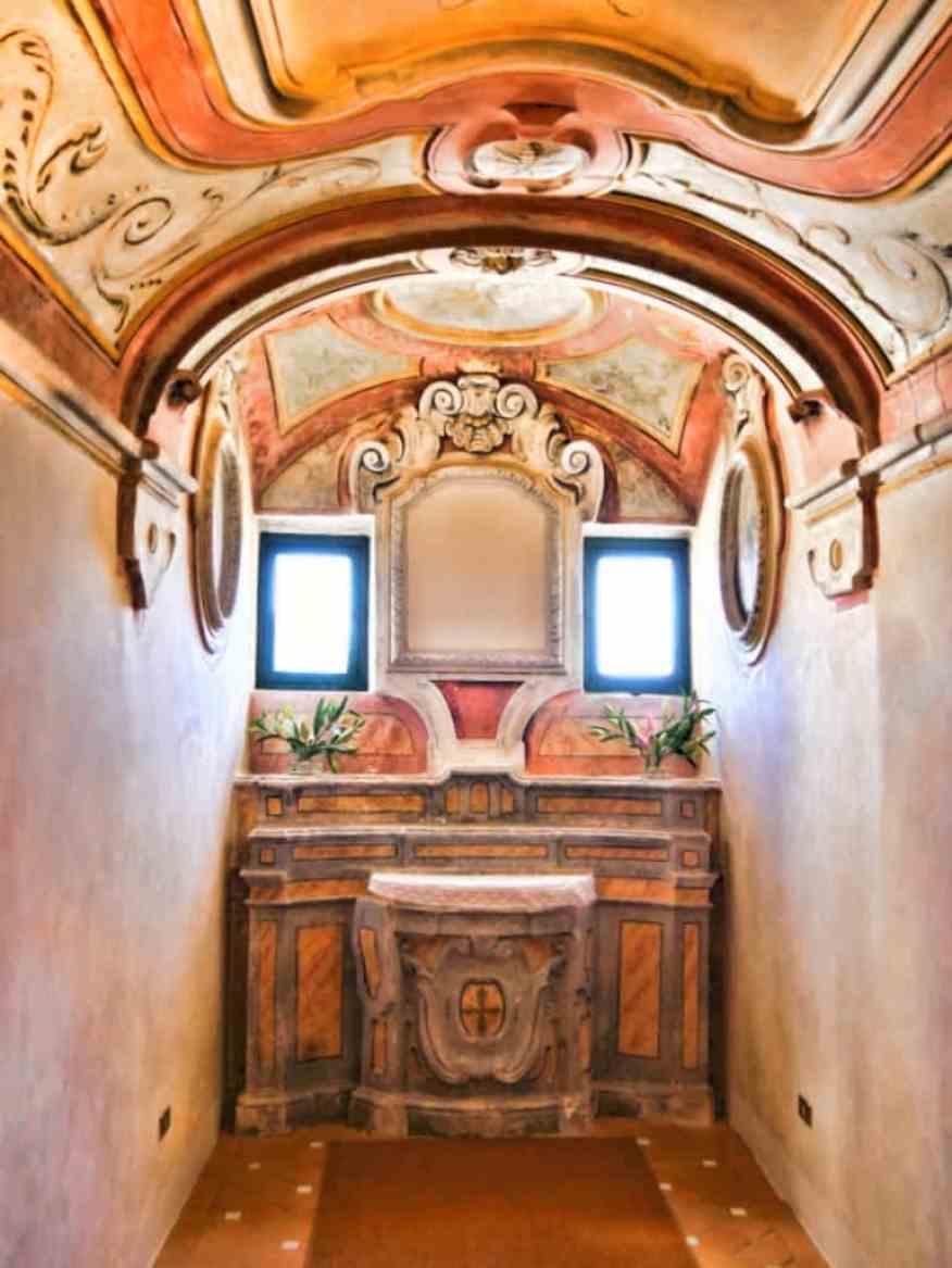 Belmond Caruso chapel