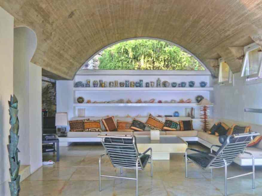 Casa L'Amalfi living room